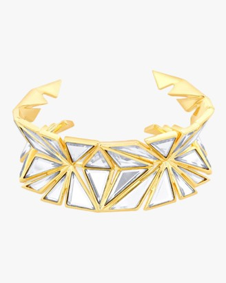 Isharya Demi Goddess Knife Edge Mirror Cuff Bracelet