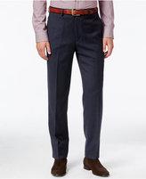 Lauren Ralph Lauren Men's Classic Fit Blue Micro-Check Dress Pants