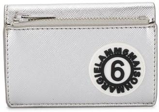 MM6 MAISON MARGIELA Logo Patch Folding Wallet