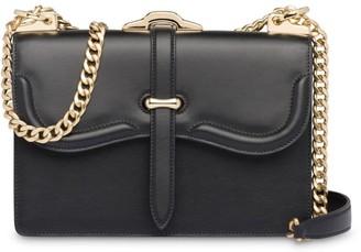 Prada Belle leather shoulder bag