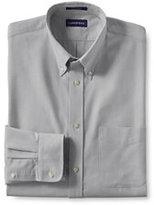 Classic Men's Big Long Sleeve Buttondown Oxford Shirt-True Navy