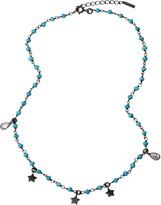 ADORNIA Star & Bead Necklace