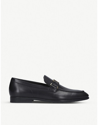 Tod's Strap-detail leather loafers