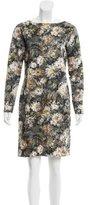 Piazza Sempione Floral Print Mini Dress