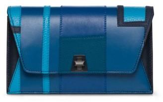 Akris Punto Anouk Envelope Leather Crossbody Bag
