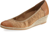 Sesto Meucci Maira Cork Wedge Espadrille, Neutral