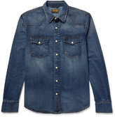 Jean Shop Garth Slim-Fit Denim Western Shirt