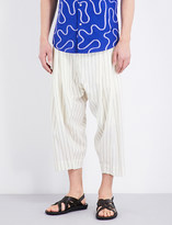 Vivienne Westwood Pinstripe wool trousers