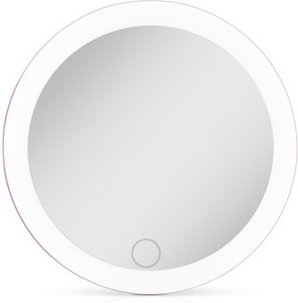 Zadro Rechargeable Compact LED Mirror with Carrying Pouch