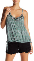 O'Neill Louisa Button Up Tie Tank