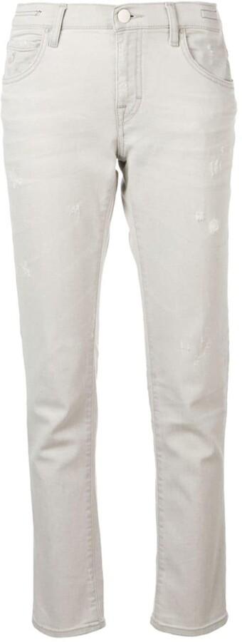 Jacob Cohen distressed straight leg jeans