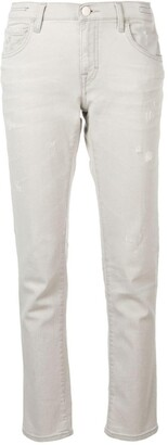 Jacob Cohen distressed straight leg jeans