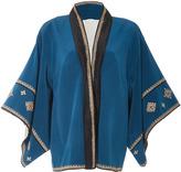Talitha Cross Embroidered Kimono