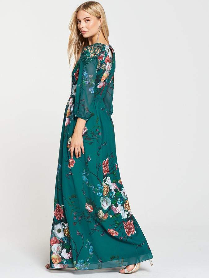 6b8f6d4047bd Fit And Flare Maxi Dress - ShopStyle UK