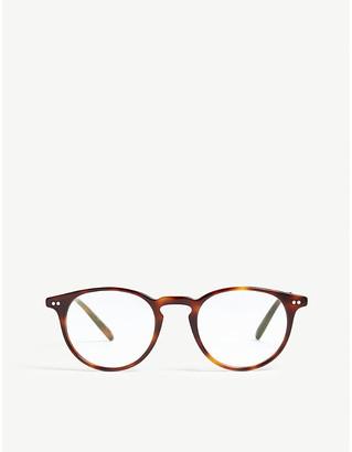 Oliver Peoples Havana Ryerson phantos-frame optical glasses