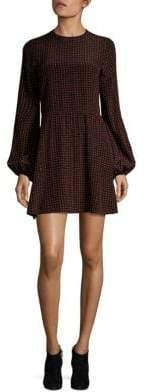 Diane von Furstenberg Dotted Silk Dress