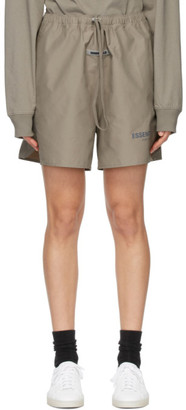 Essentials Khaki Volley Shorts