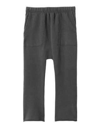 Nili Lotan SF Sweatpant in Washed Black