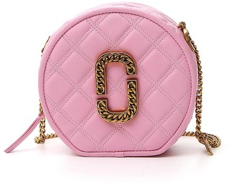 Marc Jacobs The Status Round Crossbody Bag