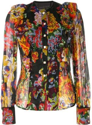 Ginger & Smart Arcadian floral blouse