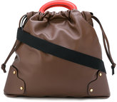 Marni Pannier tote bag - women - Calf Leather - One Size