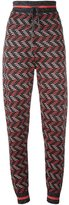 M Missoni zig zag knit trousers