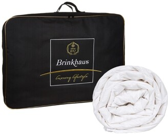 Brinkhaus Single 90% Hungarian Goose Down Summerlight Duvet (3.5 Tog)