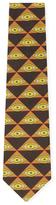 Givenchy Eye Cotton Tie