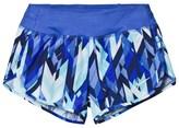 Nike Blue Printed Rival Dry Shorts