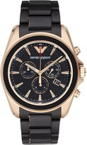 Emporio Armani AR6066 gold-plated stainless steel watch