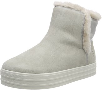 Skechers Women's Double UP-Over The Edge Ankle Boots