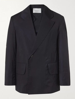 Studio Nicholson Double-Breasted Virgin Wool Suit Jacket