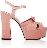 Saint Laurent Women's Candy Platform Sandals-PINK