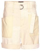 Isabel Marant Verna Linen And Cotton-blend Shorts