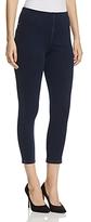 Lysse Toothpick Crop Jeans in Dark Blue