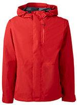 Classic Men's Breathable Waterproof Rain Jacket-Intense Orange T-Rex