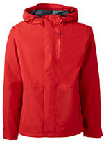 Classic Men's Tall Breathable Waterproof Rain Jacket-Bright Tomato