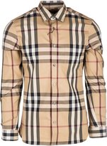 Burberry men's long sleeve shirt dress shirt nelson US size 4557598