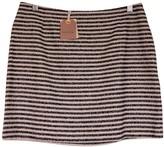 Sessun White Cotton Skirt for Women