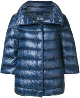 Herno cropped sleeve padded jacket - women - Polyamide/Goose Down/Polyimide - 38