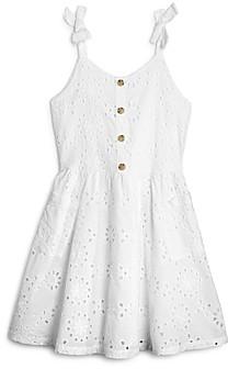 BCBG Girls BCBGirls Girls' Eyelet Pocket Dress - Big Kid