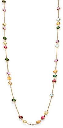 Marco Bicego Mini Jaipur Semi-Precious Multi-Stone Long Station Necklace