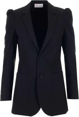 RED Valentino Shoulder Detailed Tailored Jacket
