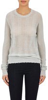 Helmut Lang Women's Striped Fine Crewneck Sweater