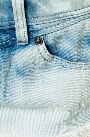 Volcom The Chonies Denim Short in Used Blue