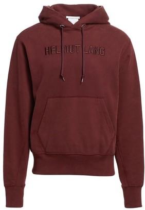 Helmut Lang Standard Embroidered Logo Hoodie