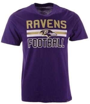 '47 Men's Baltimore Ravens Edge Rush Super Rival T-Shirt