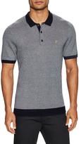 Farah Heaton Knitted Short Sleeve 12GG Polo Shirt
