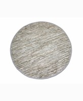 """Thumbnail for your product : Home Weavers Avalon Leather Accent 36"""" x 36"""" Rug Bedding"""