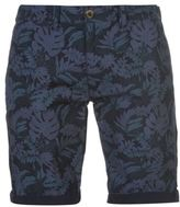 Soul Cal SoulCal Mens Deluxe Floral Chino Shorts Pants Trousers Bottoms